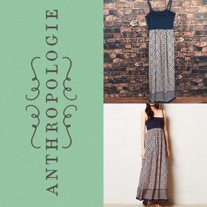Anthropologie Lilka Carreau Maxi Dress